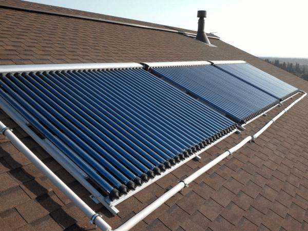 Использование вакуумных солнечных коллекторов для отопления
