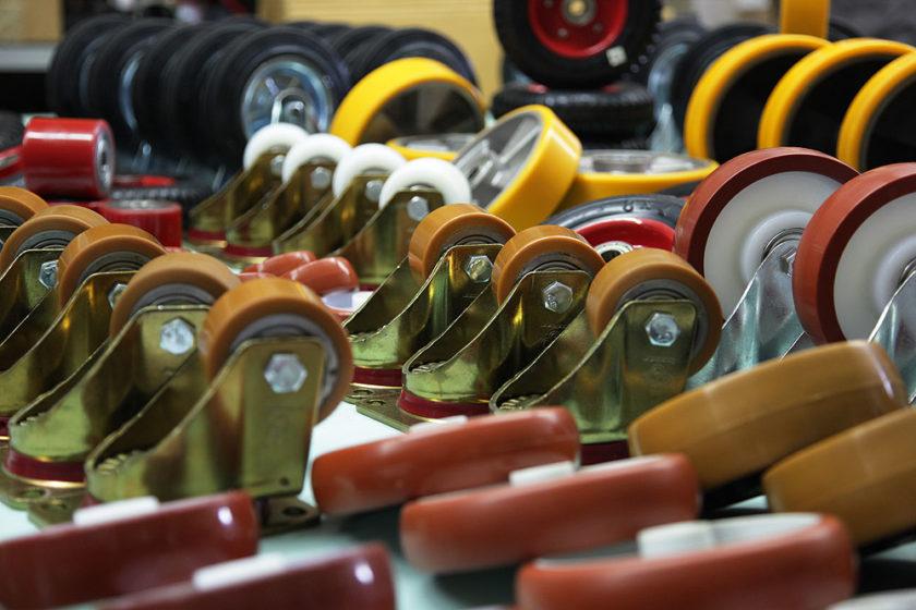 Полиуретановые колеса в Украине