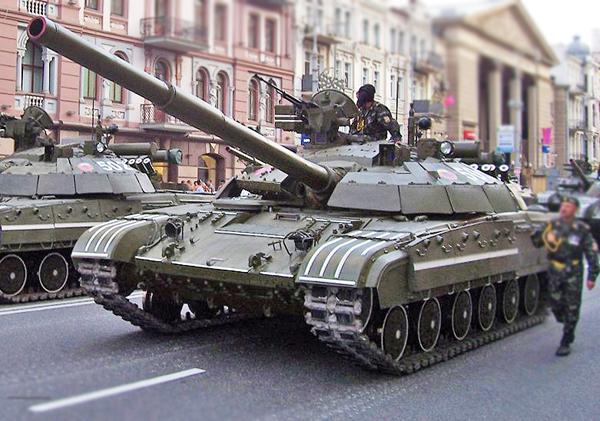 Украинский танк Т-64БМ Булат превосходит танк Т-90А