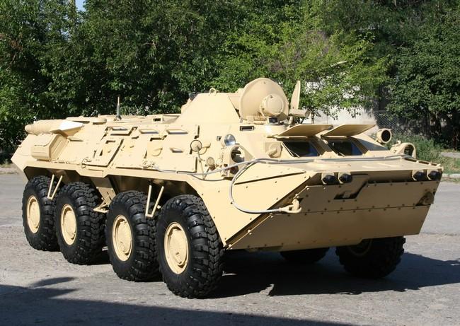 Колесный бронетранспортер БТР-80УП