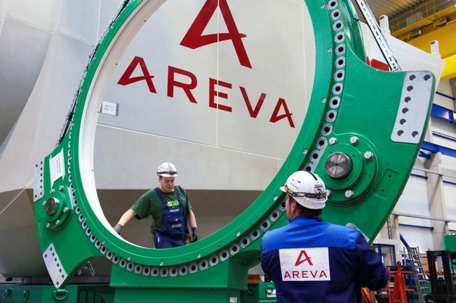 Французская Areva рассматривает возможность разработки урановых месторождений в Украине