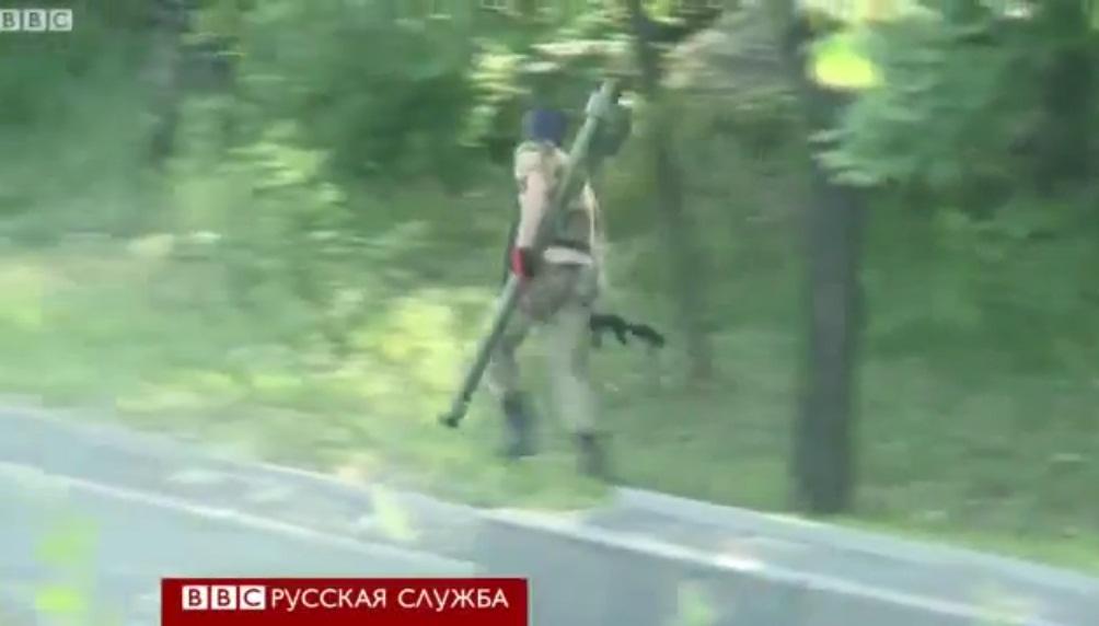 ПЗРК типа Игла у ополченцев (Донецк 26.05.2014)