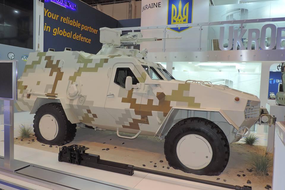 Международная выставка вооружений и военной техники IDEX-2015. Экспозиция Украины