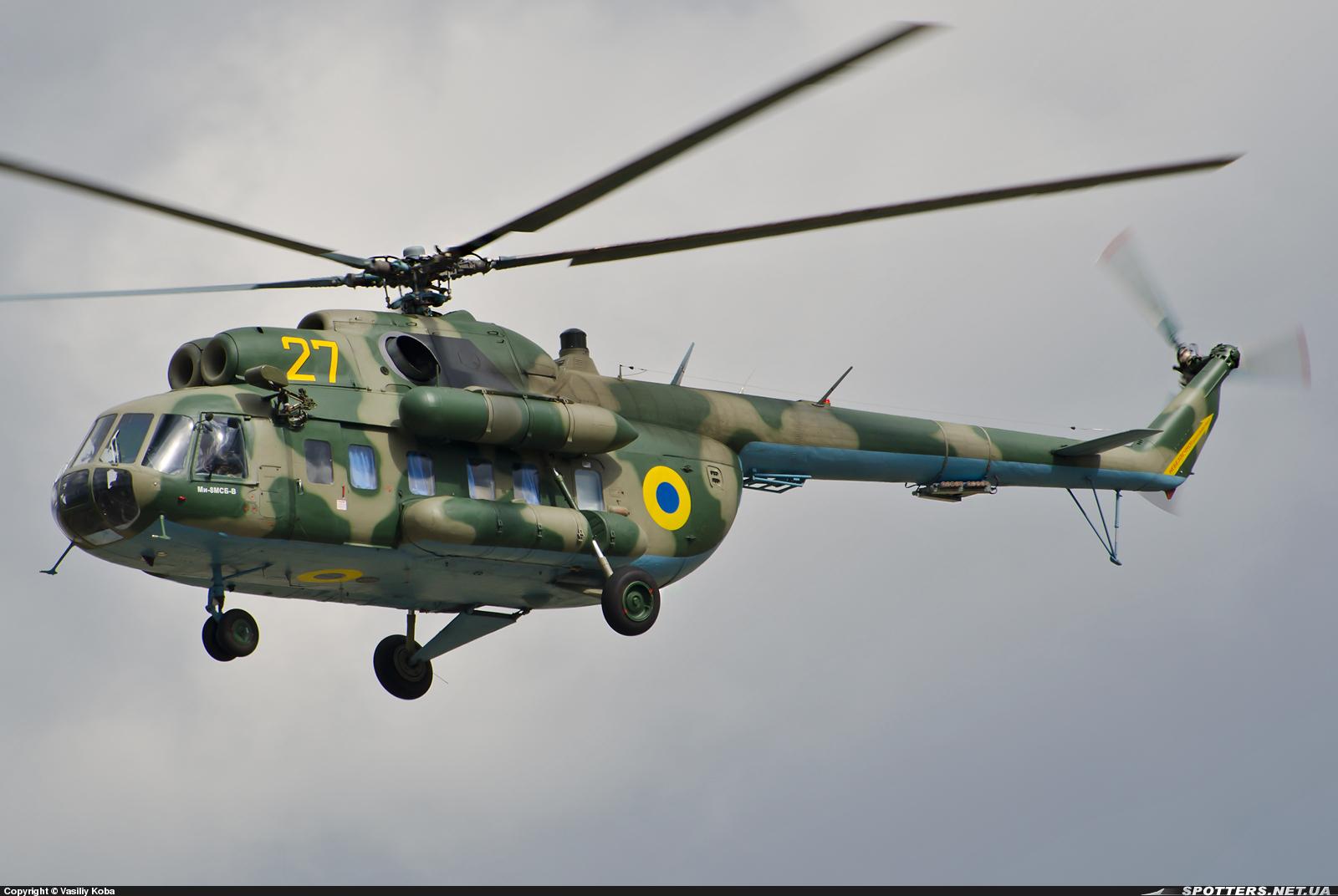 В Украине разработан специальный вертолет Ми-8МСБ-В для командования