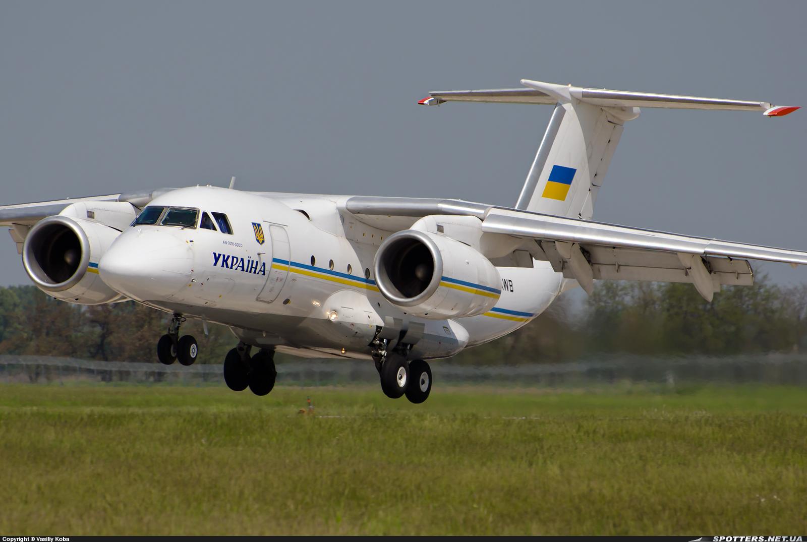 Китай стремится получить технологии производства украинских самолетов