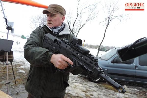 В Украине представили новейший штурмовой автомат «Малюк»