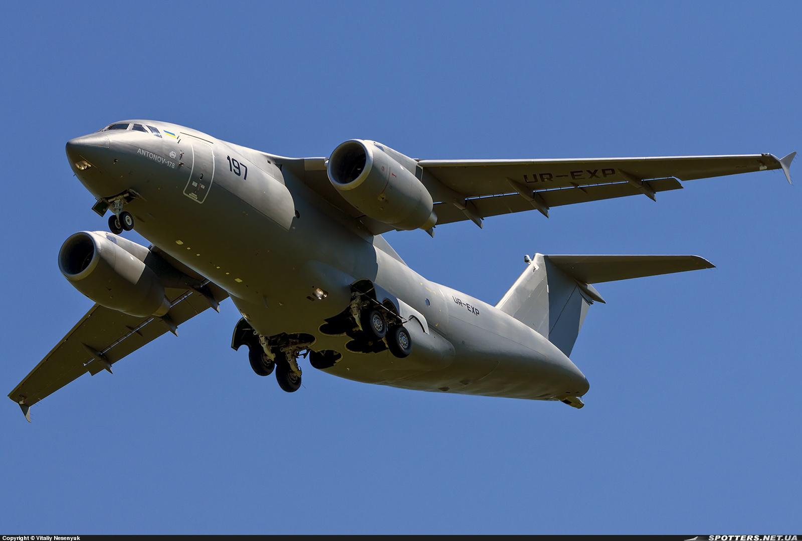 Новый украинский транспортный самолет Ан-178 готов к показу в небе Ле Бурже
