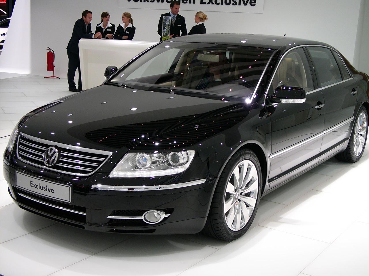 Volkswagen Phaeton – «лучезарный» ответ именитым конкурентам