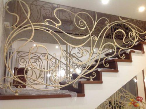 Причины популярности кованых лестниц