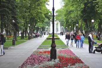В Кременчуге отремонтируют тротуары у парка
