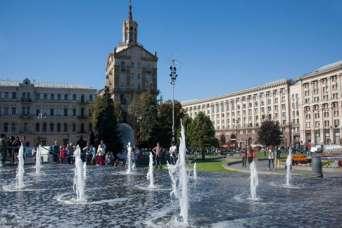 Киев начал готовиться к открытию фонтанов
