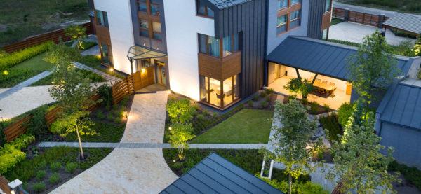 QDRO — Terraced House — уютный дом, расположенный в зеленой зоне